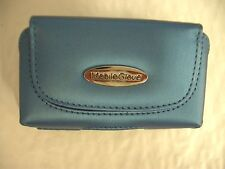 Mobile Glove Blue Cell Phone & Digital Camera Case Bag for Palm Pixi and more