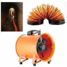 12'' Extractor Fan Blower Ventilator+5M Duct Hose Pivoting W/ Handle Utility
