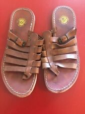 H by HUDSON - Ladies, Brown, Leather Sandals. Size 5.