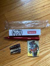 Supreme Kaweco AL Sport Ballpoint Pen SS18 BOX LOGO RED New