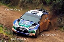 Petter Solberg Ford Fiesta RS WRC Acropolis Rally 2012 Photograph