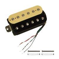 Electric Guitar Humbucker Pickups Bridge Alnico V Pickup (Zebra + black) A5F4
