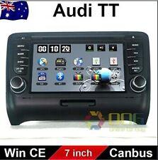 7 inchCarDVDGPSNavigation StereoHeadUnit For AUDI  TT 2006-2014 Dashboard