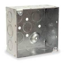 RACO 232 Electrical Box, Square, 4x4x2, 30.3 Cu-In