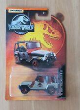 MATCHBOX - JURASSIC WORLD - 93 JEEP WRANGLER - BRAND NEW & SEALED
