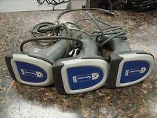 Lot of 3 Intermec Sr30 Usb Handheld Barcode Scanners