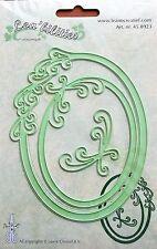 Lea'bilities Design Die Cutter - Frame Oval Curves - 8923
