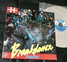BREAKDANCE RARE JAPAN HERALD ORIG LASER DISC w/OBI REFLEX ICE T BAR-KAYS