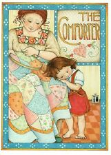Mary Engelbreit The Comforter Mother Child Quilt Blank Greeting Card - Unused