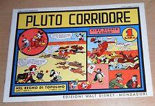 ED.COMIC ART SERIE NEL REGNO DI TOPOLINO N° 12  PLUTO CORRIDORE  !!!!!