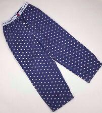 TOMMY Hilfiger PAJAMA Pants MEDIUM Vintage STARS Print WAISTBAND Logo SIZE Mens*