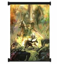 "1 X Legend of Zelda: Twilight Princess Game Fabric Wall Scroll Poster (16""x21..."
