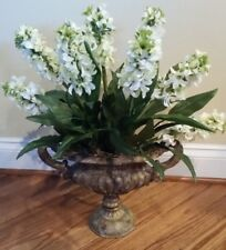 Hyacinth 3 Stem Artificial Flower Bush Floral Arrangement Wedding Bouquet