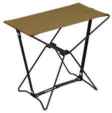 Coyote Brown Lightweight Portable Chair Folding Camp Stool Camping Rothco 45450