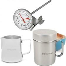 Andrew James Barista Coffee Set Chocolate Shaker Thermometer Jug Milk Expres H1