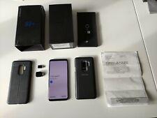Samsung Galaxy S9+ SM-G965 - 64 Go - Bleu Corail, Bien lire la description
