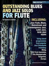 Outstanding Blues And Jazz Flute Solos Book/audio files