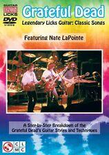Grateful Dead Legendary Licks Classic Songs A Breakdown of the Gratefu 002500968