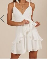 75f55ae087f ShowPo All At Once dress in white. Size