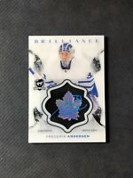 2016-17 UPPER DECK THE CUP FREDERIK ANDERSEN BRILLIANCE AUTO #B-FA