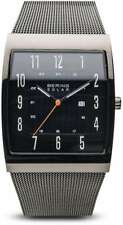 Bering Time Watch - Solar - Womens Polished Grey 16433-377