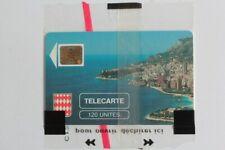 Télécarte à puce Monaco MF3 Rocher de Monaco 120U NSB 1989 (55345)