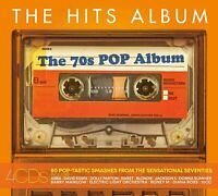 The Hits Album: The 70's Pop Album (CD, 2019, 4-Discs, Sony Music) New & Sealed