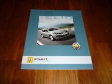 Renault Clio Prospekt 09/2006