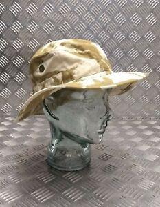 Genuine British Army Issued DPP Boonie / Bush Hat Desert Camo All Sizes Used