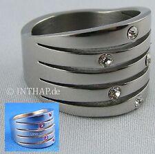 Markenlose Modeschmuck-Ringe im Band-Stil mit Fantasie-Schliffform