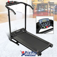 Treadmill Exercise Running Foldable Cardio Home Gym Electric Workout Machine