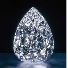 COM 12.00 Ct Huge Loose White Pear sapphire 10x14mm Beast Offer Ebay Gemstone