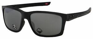 Oakley Mainlink XL Sunglasses OO9264-4561 Matte Black   Prizm Black Polarized