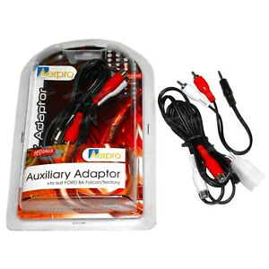 Ford BA BF Falcon + SX SY Territory Auxilary Adaptor Cable IPod IPhone IPad MP3