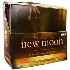 TWILIGHT NEW MOON TRADING CARD SEALED BOX  - UPDATE SET