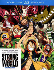 One Piece Film: Strong World (Blu-ray/DVD Combo) New