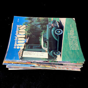SPECIAL INTEREST AUTOS MAGAZINE | LOT OF 18(FROM 1980's)