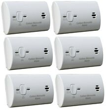 Kidde Carbon Monoxide Alarm - Battery Operated CO Detector - 9C05-LP - 6 Pack