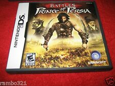 Battles of Prince of Persia (Nintendo DS, DSI, 3DS, 2DS 2007) Video Game