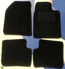 MAZDA 2 2007 ON QUALITY TAILORED BLACK CAR FLOOR MATS