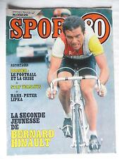Sport 80 n° 42 – 17 octobre 1984 – Staf Versluys, Hans Peter Lipka, Bernard Hina
