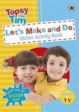 Let's Make and Do: a Ladybird Topsy and Tim Sticker Activity Book-CBEEBIES