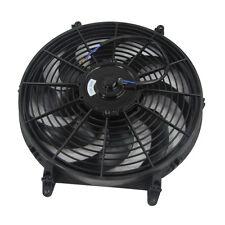 PRO Universal 14 Inch Slim Fan Push Pull Electric Radiator Cooling Fan 12v 80w