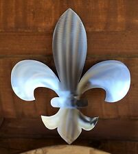 Fleur-de-lis  Sign Metal Wall Art Home Decor Outdoor Patio Garden