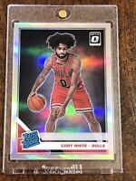 Coby White 2019-20 Panini Optic Silver Holo Rookie Chicago Bulls RC Centered 🔥