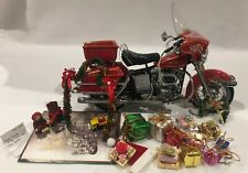 FRANKLIN MINT HARLEY-DAVIDSON ELECTRA GLIDE CHRISTMAS MOTORCYCLE