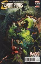 Champions #1.MU Comic Book 2017 - Marvel
