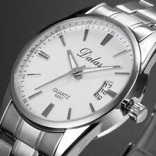 Montre  Luxe Neuve Homme Bracelet Métal DATE Fashion watch PROMO