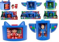 PJ Masks Transforming Figure Set Ages 3+ Owlette Catboy Gekko Car Play Race Gift
