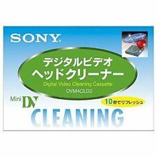 SONY  Mini DV DVC Video Head Cleaning Cassette DVM4CLD2 *